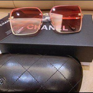 Chanel Sunglasses Pink YS028